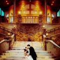 Kiss on the Grand Staircase